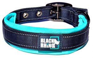 Black Rhino – The Comfort Collar Ultra Soft Neoprene Padded Dog Collar