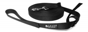 Leashboss Long Training Leash with Storage Strap